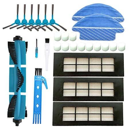BSDY YQWRFEWYT Kit Accesorios de Recambio para Cecotec Conga Excellence 3090 Robot Aspiradora, Material Premium, Pack Familiar de 1 Cepillo ...