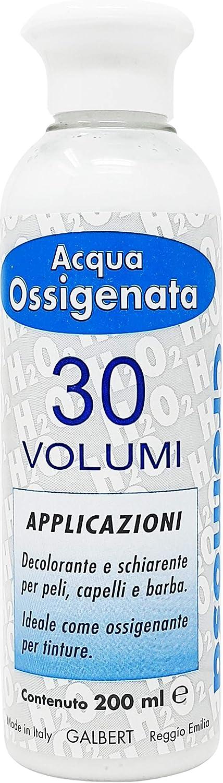 Agua Oxigenada Cremosa 30 Volúmenes para Tintes Made In Italy