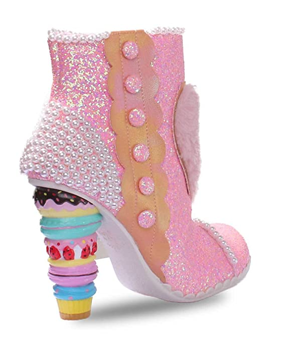 Irregular Choice Bee Delicious, Bottes pour Femme - rose - rose,