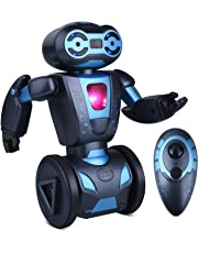 Kuman Remote Control Robot, 2.4Ghz Smart Self Balancing Mip Robot Toy Gifts for Kids, 5 Operating Modes, Dancing, Boxing, Driving, Loading, Gesture Sensing, Super Fun RC Robot 1016A