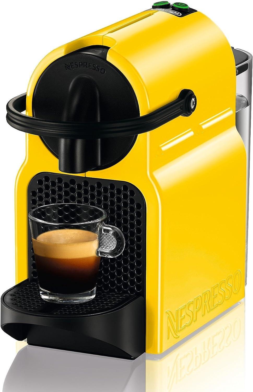 DeLonghi Nespresso Inissia EN 80.YE - Cafetera automática, 19 ...