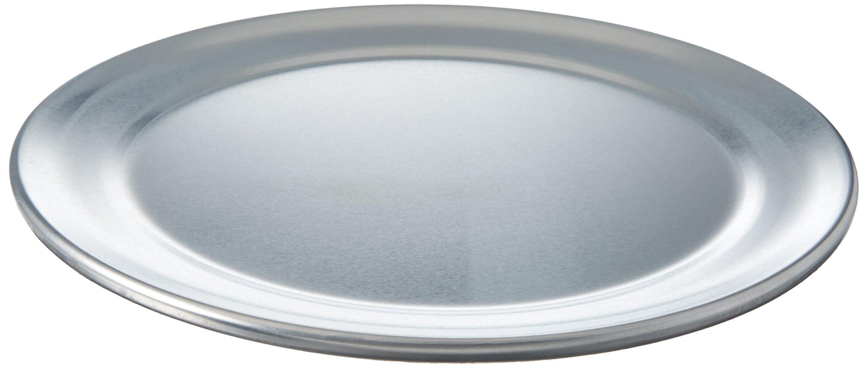 Winco APZT-8 Pizza Pan, 8-Inch, Wide Rim