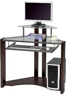 acme wilcox computer desk cherry finish