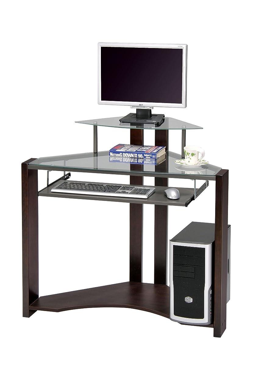 ACME Wilcox Computer Desk, Cherry Finish