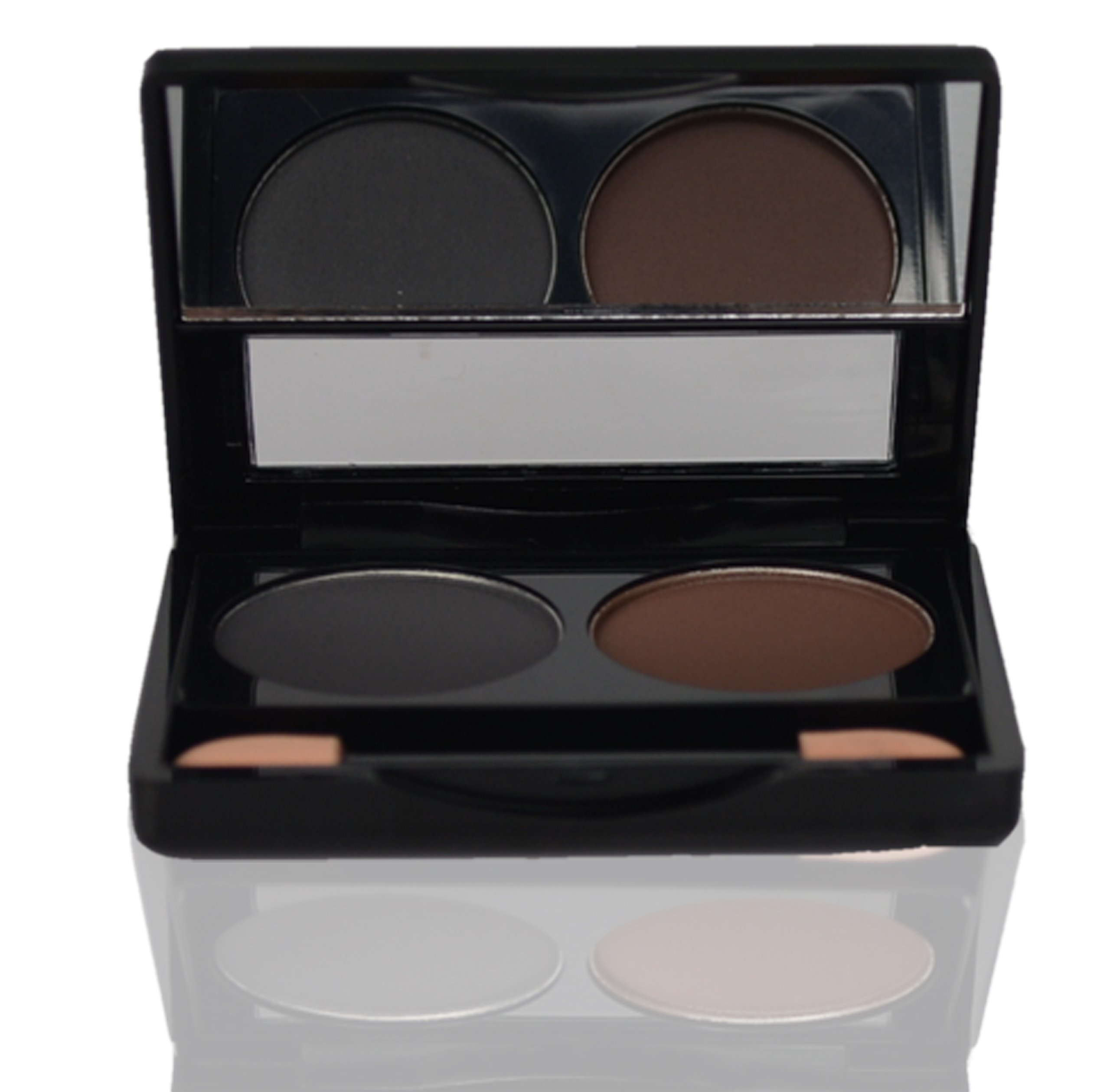 Cleure Duo Hypoallergenic Mineral Natural Eyeshadow - Wet/Dry, Great for Sensitive Eyes