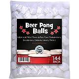 Brewski Brothers BEER-PONG144 Beer Pong Balls (Pack of 144), White
