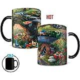 Morphing Mugs Thomas Kinkade Disney's Alice in Wonderland Painting Heat Reveal Ceramic Coffee Mug - 11 Ounces