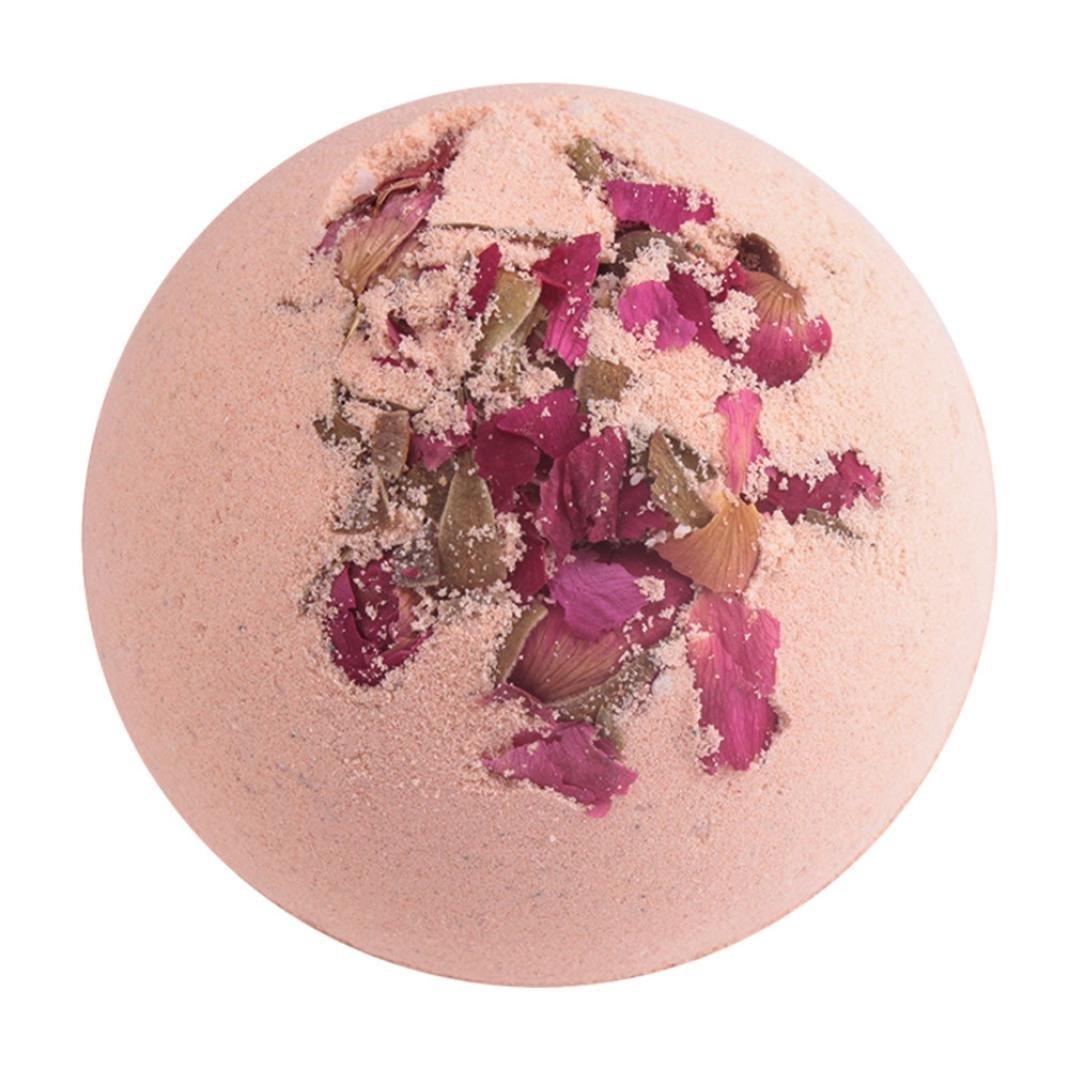 1pc Deep Sea Bath Salt Lavender Lemon Milk Rose Body Essential Oil Bath Ball Natural Bubble Bath Bombs Ball Bubble Bath Bombs Rich And Magnificent Bath