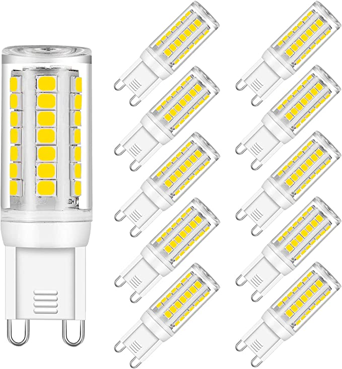 260-300 Lumens DC12-80V for RV Camper Marine,Solar Power Light and Off Grid,6-Pack Welsun 12v G9 LED Lamp 4W 3000k Warm White//6000k Cool White No Flickering LED Lamp Color : Cool White
