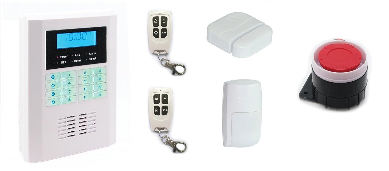 Sistema de alarma inalámbrico Lafayette GSM-10 con GSM ...