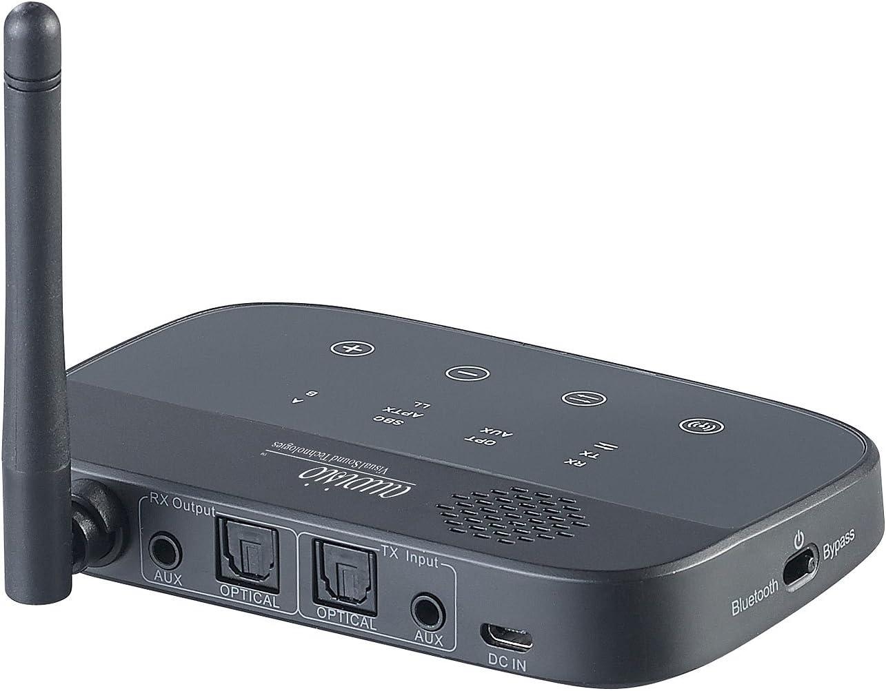 Auvisio Transmitter Bluetooth 2in1 Audio Sender Elektronik