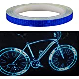 """Amaoma Bicycle Reflective Stickers, 8M, Bike stickers car motorcycle tyre Sticker Mountain Bike Accessories 315"""""""