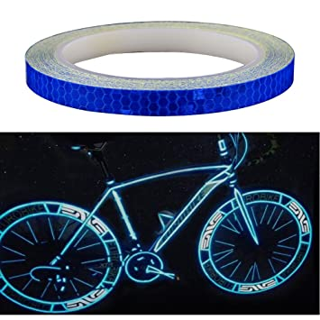 "558b55244 Amaoma Pegatinas Reflectantes para Bicicleta 8M (315""), Cinta  Reflectante Adhesiva Etiqueta Engomada"