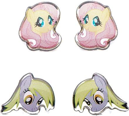 Amazon.com: my little pony arete de acero inoxidable ...