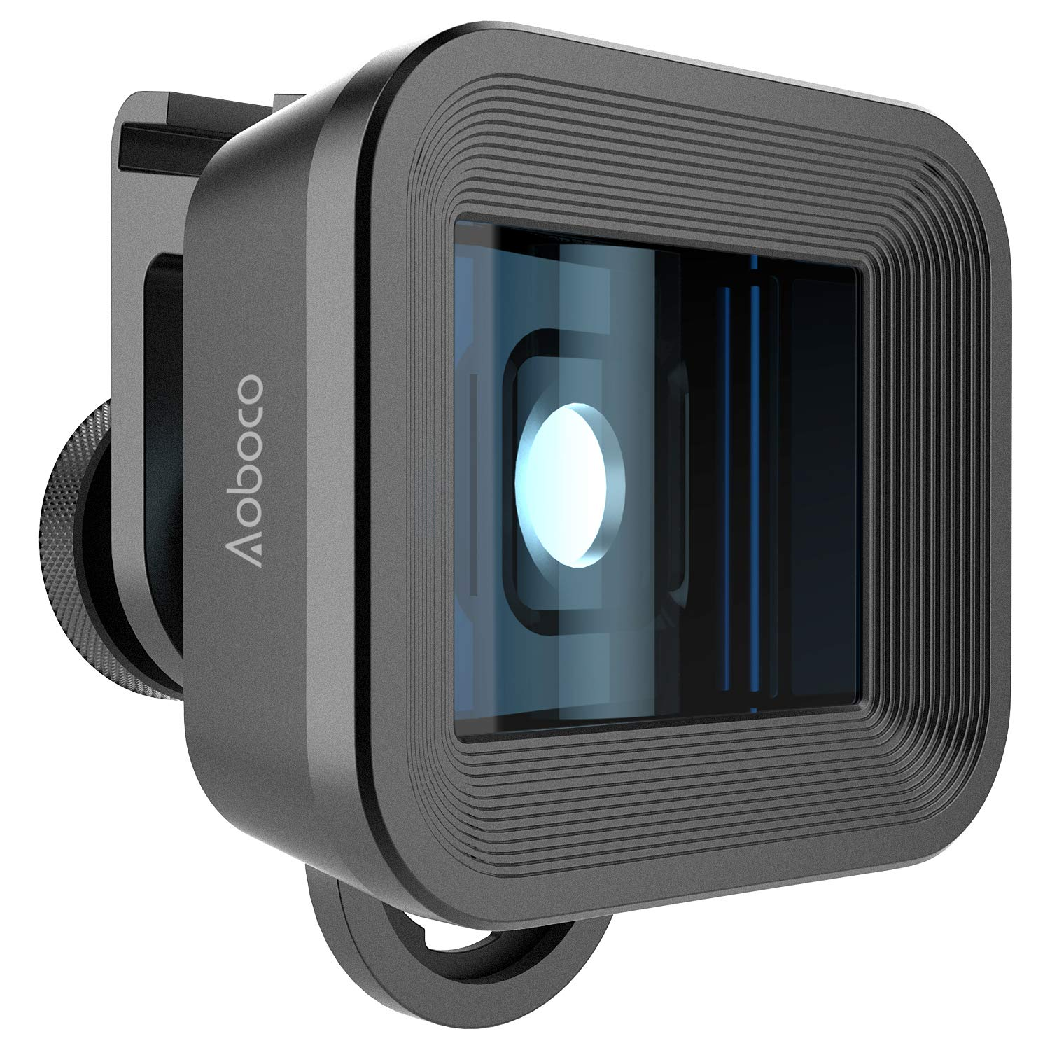 Aoboco 1.33X Anamorphic Lens for iPhone, Pixel, Samsung Galaxy and Note, Widescreen Mobile Filmmaking Lens by Aoboco