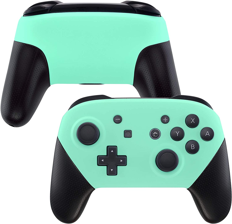 eXtremeRate Carcasa para Nintendo Switch Pro Funda Delantera Placa ...