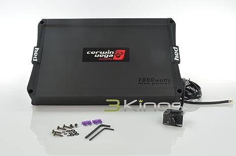 Cerwin Vega hed31000.1d 1000 W HED serie clase D amplificador de audio del coche