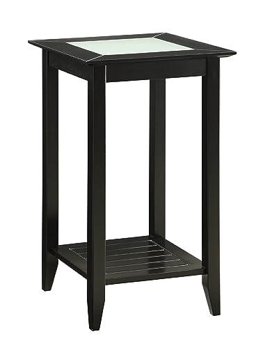 Convenience Concepts Carmel End Table, Black