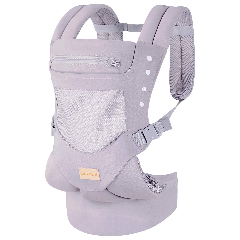 Babytrage f/ür Neugeborene von Geburt an Paket inkl 360 4-Positionen Baby/… Neugeboreneneinsatz