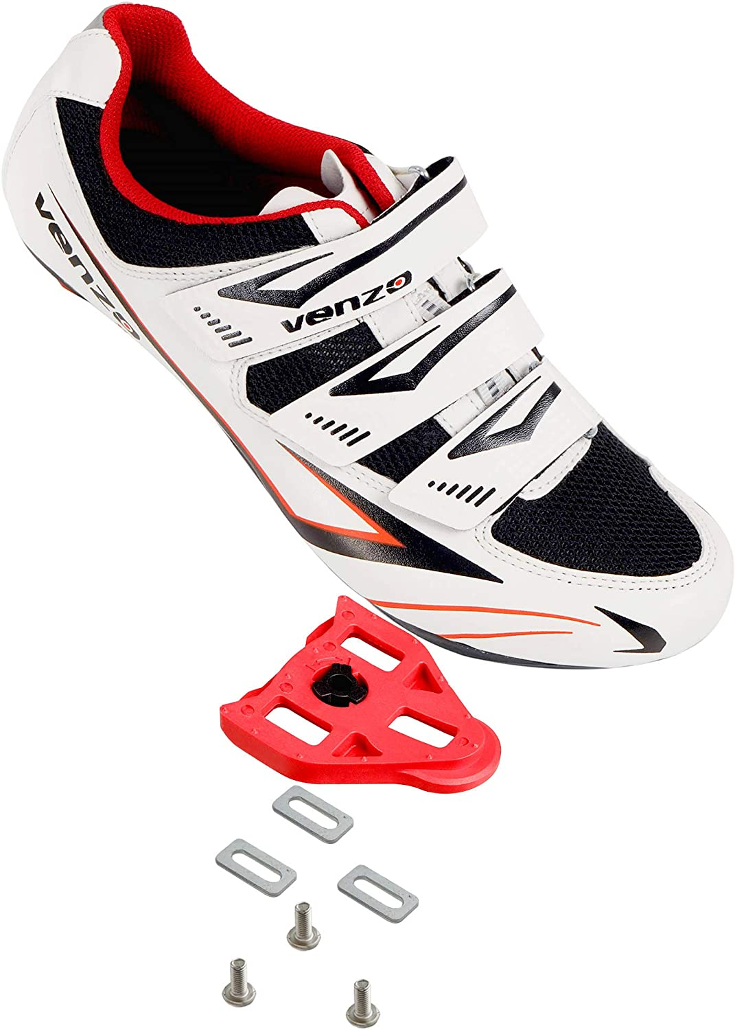 Venzo Bicycle Men's or Women's Road Cycling Riding Shoes
