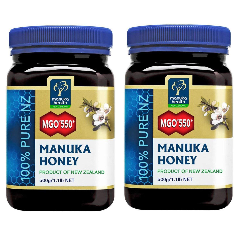 Manuka Health MGO 550+ Manuka Honey (500g) - Pack of 2 by Manuka Health (Image #1)