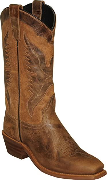 4741 Abilene Mens Sage by 12 Eagle Underlay Western Boot Square Toe