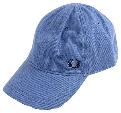 Fred Perry Men s Pique Classic Cap Blue  Amazon.co.uk  Sports   Outdoors 6f0d1d1cc247