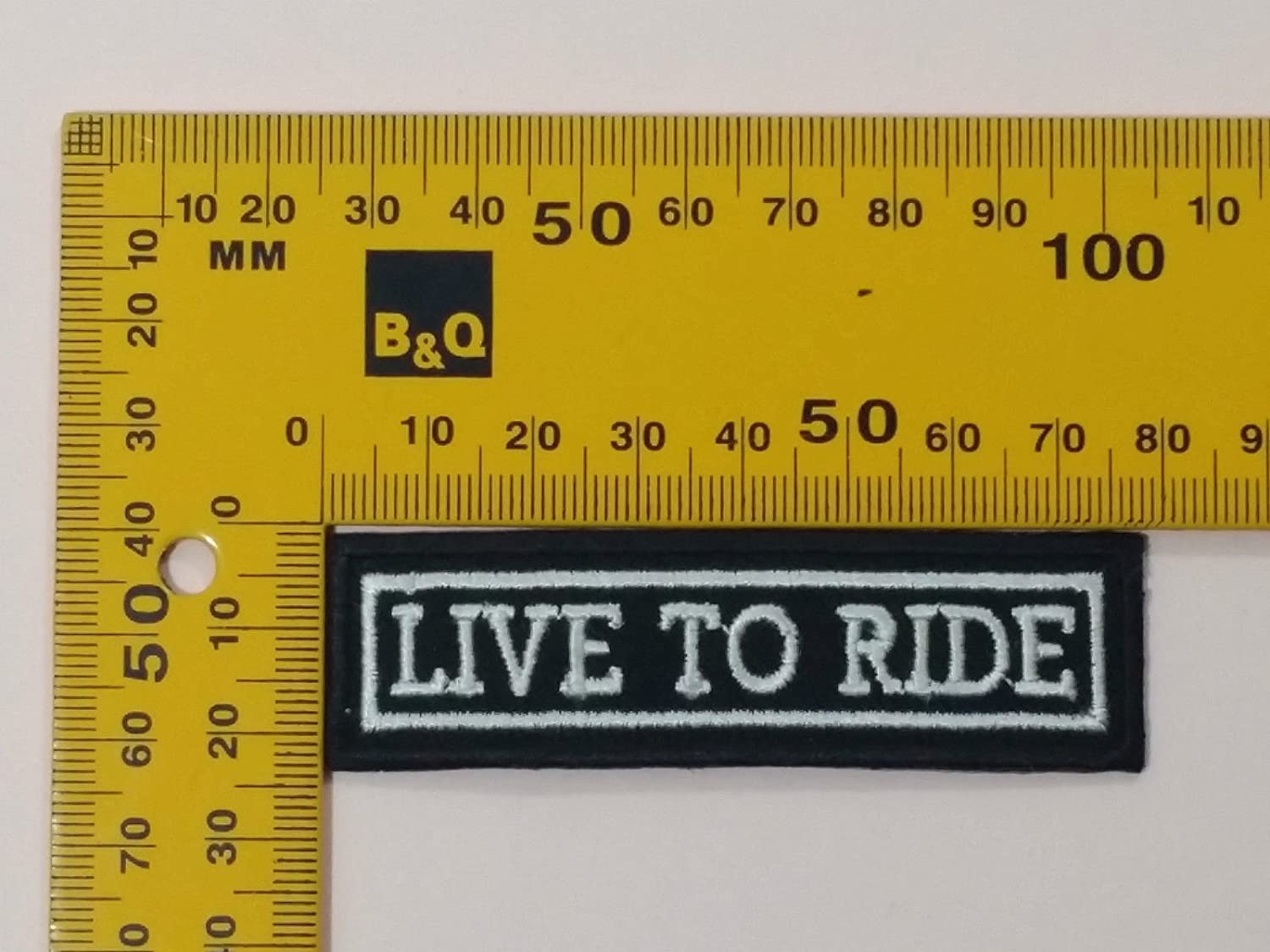 LIVE TO RIDE ROCKER Embroidered Motorcycle MC Club NEW Biker Vest Patch PAT-1149