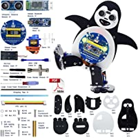 Adeept Penguin Robot Kit   Dancing Robot Kit for Arduino Nano   Remotely Controlled by Android Device via HC-06 Bluetooth Transmission   Obstacle Avoidance   STEM Kit with PDF Manual