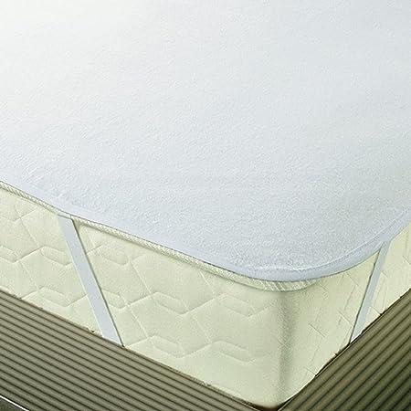 Topmatras 180 X 220.Erwin Muller Waterproof Mattress Topper Cotton White Size 180x220 Cm