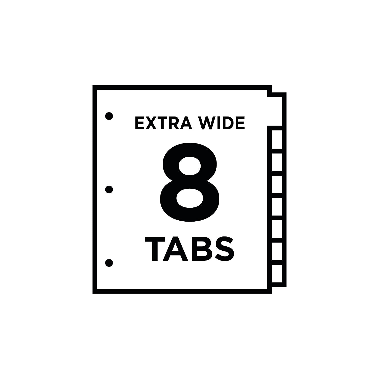 Amazon avery 11223 insertable big tab dividers 8 tab 11 1 amazon avery 11223 insertable big tab dividers 8 tab 11 18 x 9 14 binder index dividers office products hexwebz Choice Image