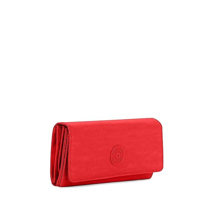 Amazon.com: Kipling New Teddi - Cartera para mujer, Rojo ...