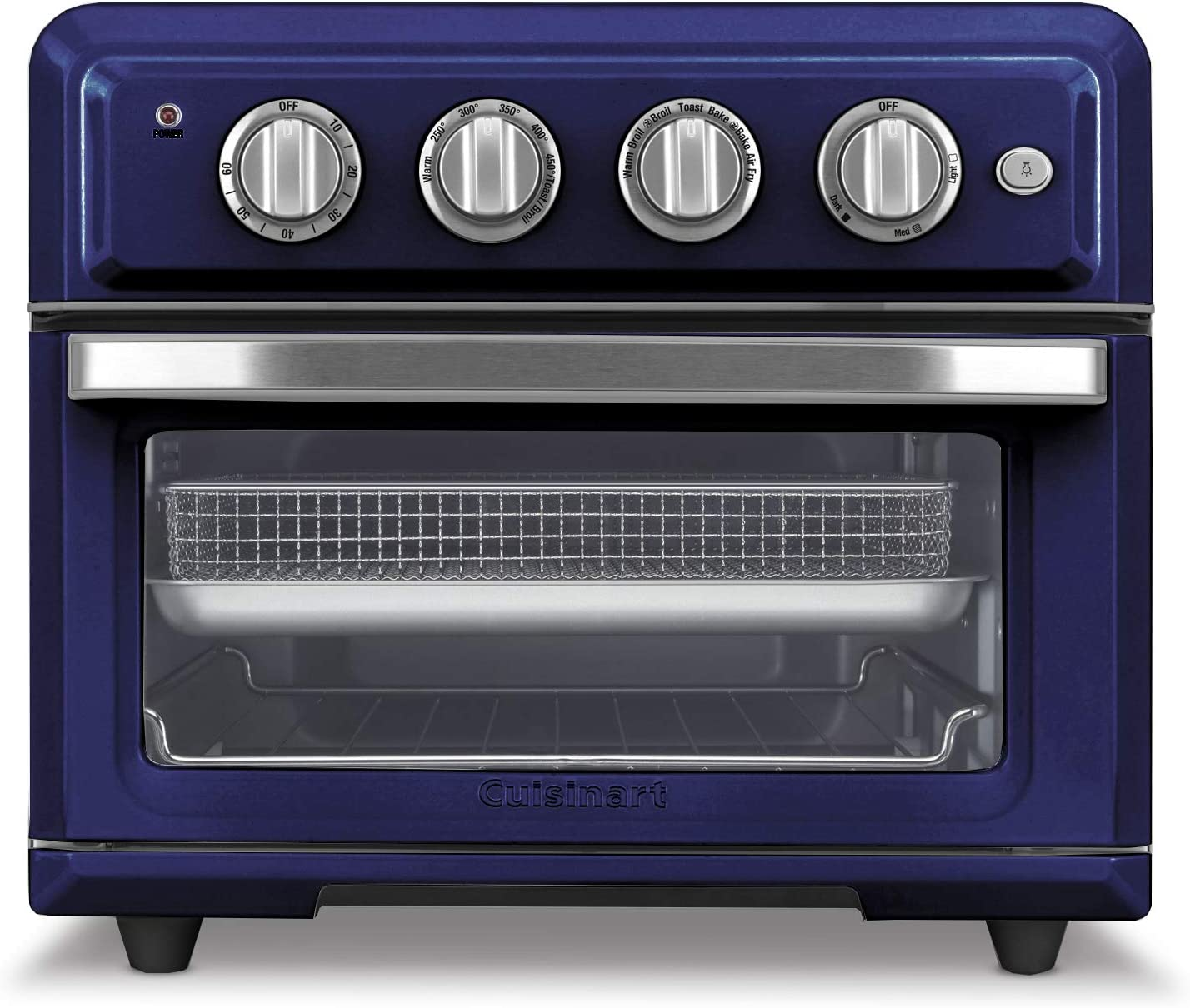 Cuisinart TOA-60NV Convection Toaster Oven Airfryer, Navy