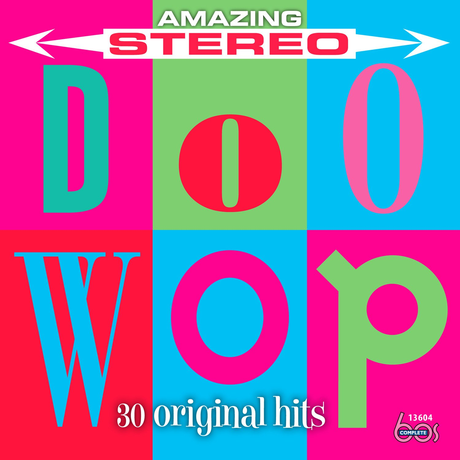 Amazing Stereo Doo Wop (Various Artists) by Complete 60s