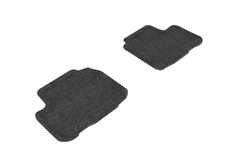 L1MB04912201 Classic Carpet 3D MAXpider Front Row Custom Fit Floor Mat for Select Mercedes-Benz Models Gray