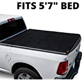 LEER ROLLITUP | Fits 2019+ Dodge Ram 1500 with 5.7' Bed | Soft Roll Up Truck Bed Tonneau Cover | 4R298 | Low-Profile…