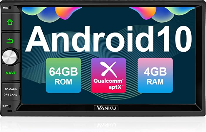 Vanku Android 10 Autoradio Radio Mit Navi 64gb 4gb Elektronik