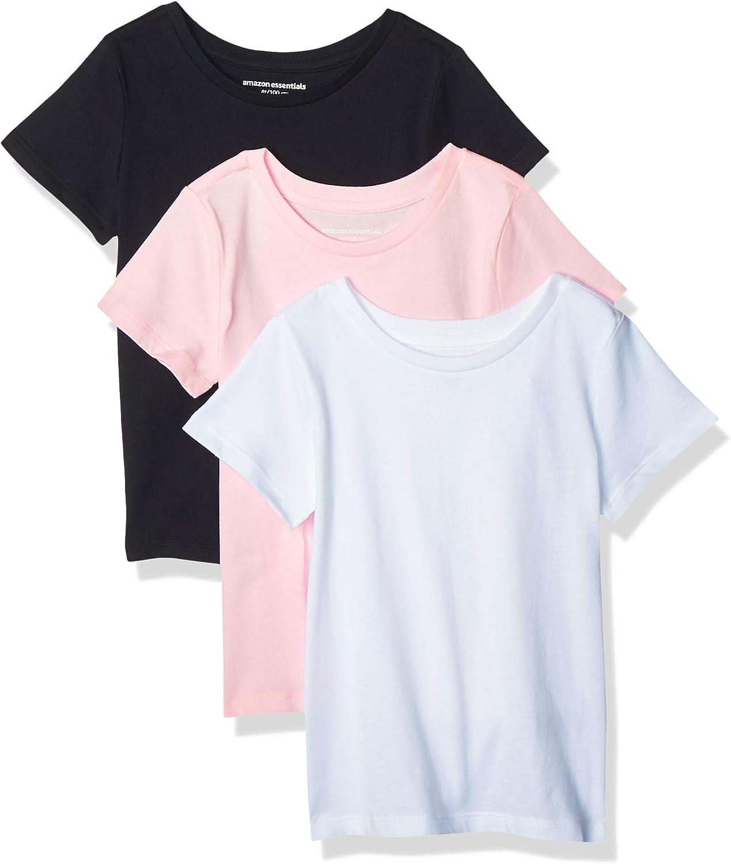 Essentials Girls 3-Pack Short-Sleeve Tee