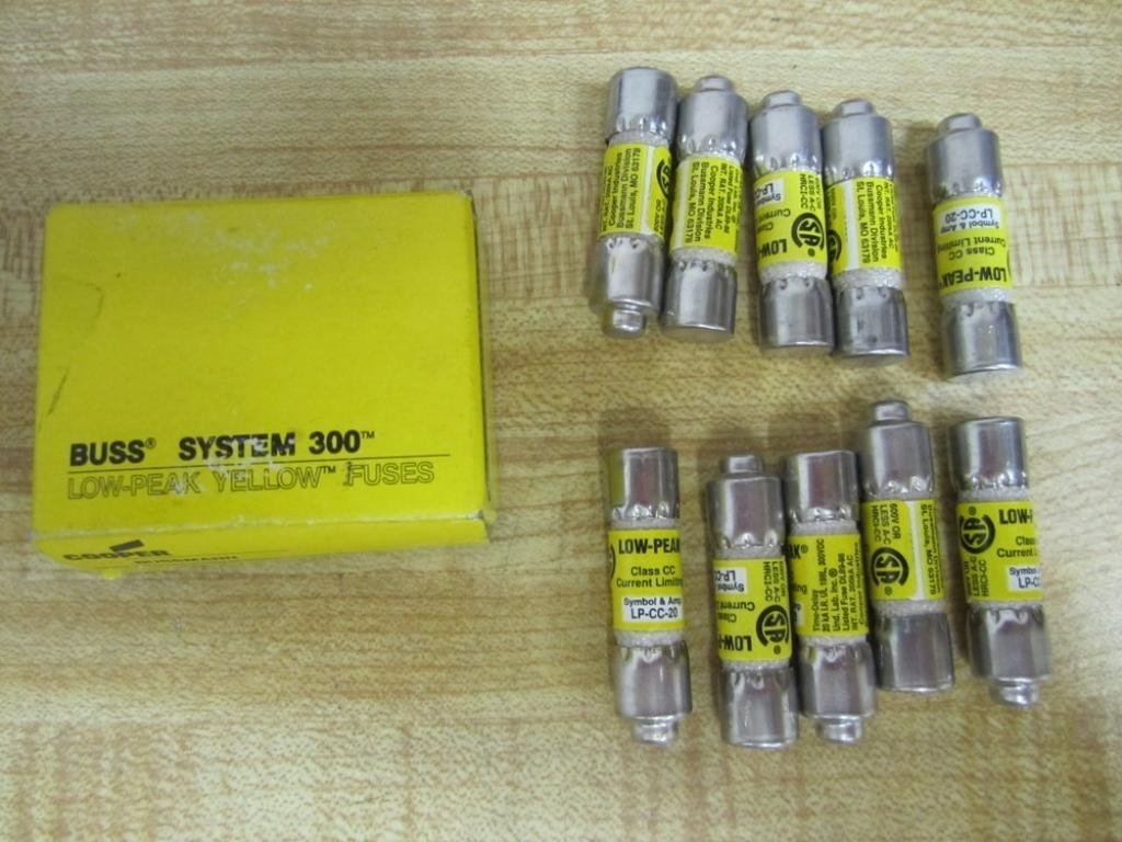 Bussmann LP-CC-20 Cooper Fuse LPCC20 (Pack of 10)