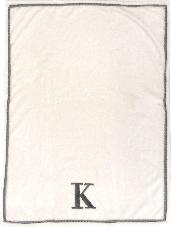 Little Starter K630498 Baby Blanket White,; 30 x 40