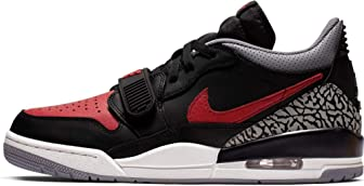 Jordan Mens Air Jordan Legacy 312 Hight Top Lace Up Basketball Shoes