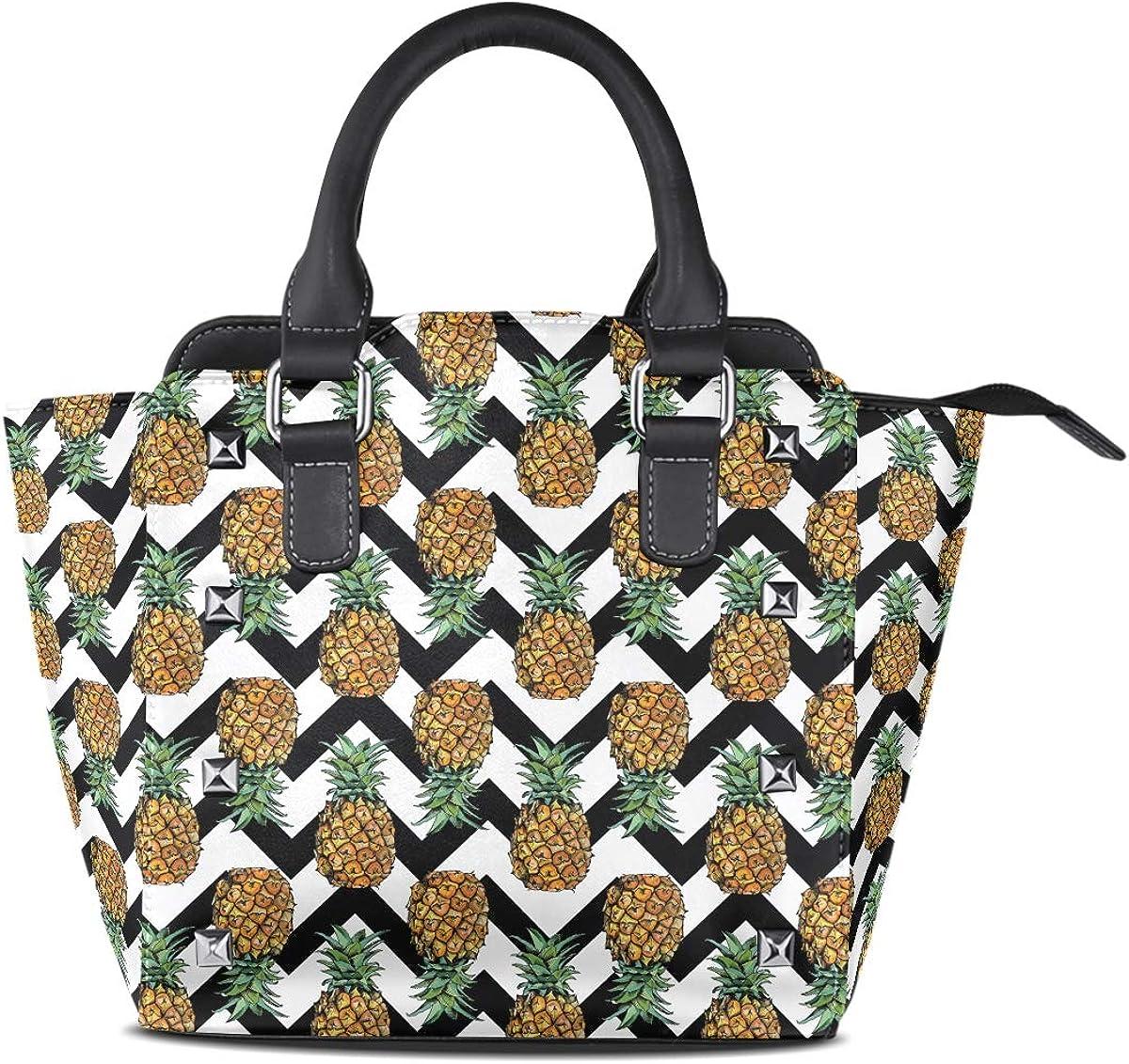 Leather Flower Halloween Sugar Skull Rivet Handbags Tote Bag Shoulder Satchel for Women Girls