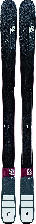 K2 Mindbender 88 Ti - Pack de esquí con Fijaciones para Mujer, 11 TCX, Color Negro