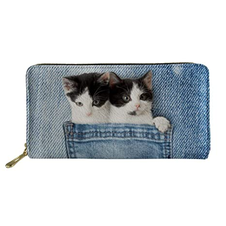 Showudesigns - Cartera para mujer Mujer Cat 1 talla única