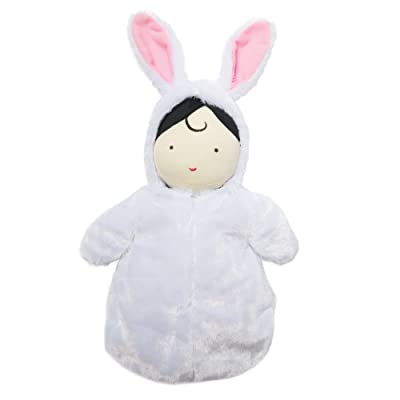 Manhattan Toy Snuggle Baby Doll & Hooded Bunny Sleep Sack: Toys & Games