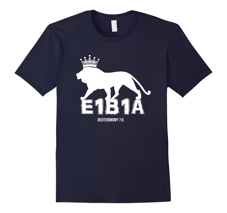 E1B1A Hebrew Israelite T-shirt Judah Torah Yahuah 12 Tribes