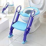 Aitsite Potty Trainer Sitz für Kinder Baby Kleinkind Kind Töpfchen Toilette mit Leiter und verstellbare Schritte
