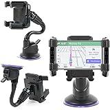 Duragadget Support Fixation Multifonction + Bras Flexible pour GPS Garmin Drive 51 et 61, DriveAssist 50 et 51, DriveLuxe 50 et 51, DriveSmart 51 et 61