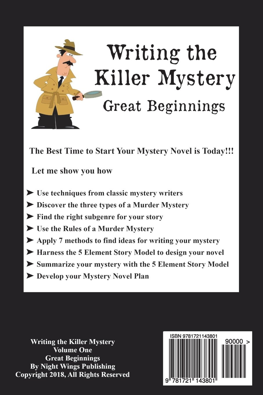 how to write a mystery story for middle school