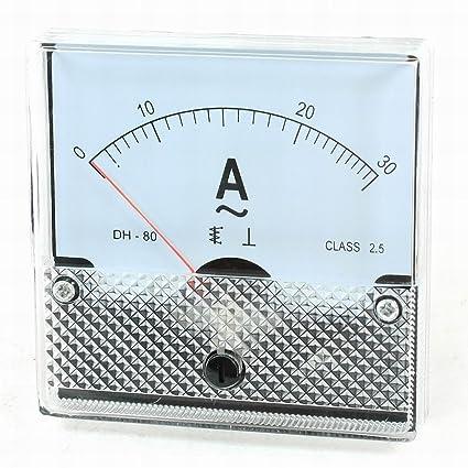 Amazon com: Ucland Fine Tuning AC 0-30A Current Analog Panel